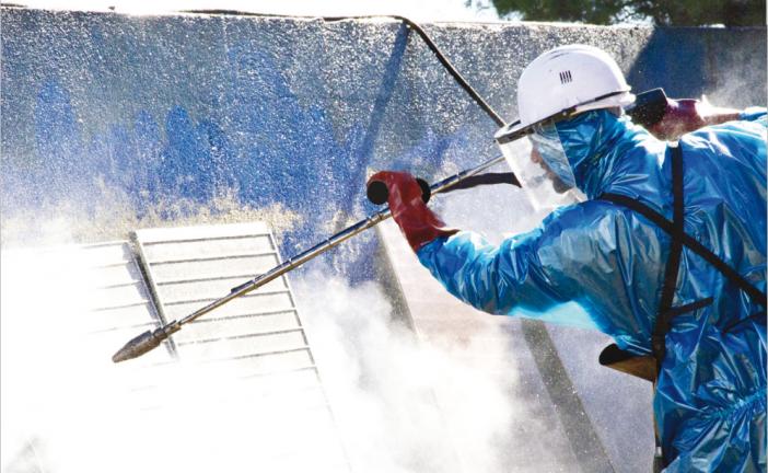Prestations et matériel pour le nettoyage industriel