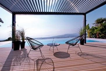La pergola bioclimatique, une solution design pour aménager votre rooftop