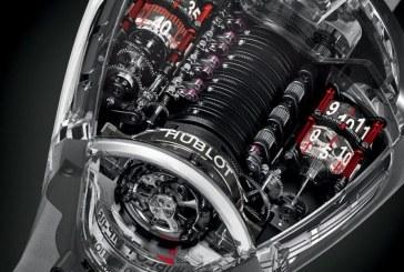 Hublot et Ferrari présentent une nouvelle montre en Saphir