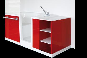 Une salle de bain pour les séniors