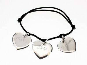 bracelet comp 3 coeurs