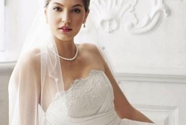 La robe de mariée bustier : Gage d'un look nuptial glamour