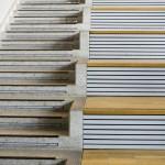 L'escalier suspendu pour une décoration moderne